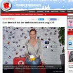 Spendenübergabe an Radio Hamburg 2015